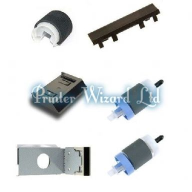 HP LaserJet 3700DTN Q1324A Paper Jam Repair Kit with fitting instructions
